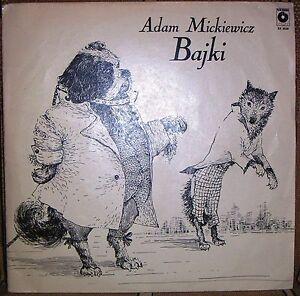 ADAM MICKIEWICZ - Bajki - Zagan, Polska - ADAM MICKIEWICZ - Bajki - Zagan, Polska