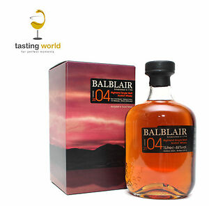 SHERRY CASK! Balblair 2004 Vintage - Single Malt Whisky 1 LITER 46%