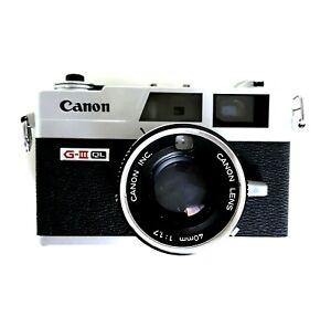 Canonet QL17 G3 35mm rangefinder for parts SOLD