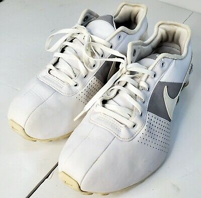 Nike Shox NZ White Silver 317549-112 Running Athletic Shoes Women's Size 9