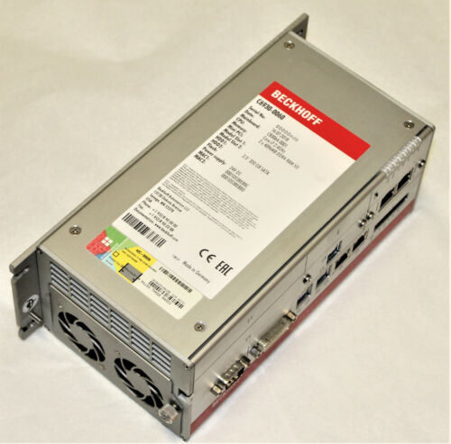 BECKHOFF C6930-0060 COMPACT INDUSTRIAL CONTROL CABINET PC CB3064-0001 CORE I7