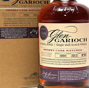 SHERRY CASK! Glen Garioch 1999 Small Batch Release No.30 - 0,7l 56,3%