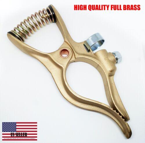 1 pc - 400 Amp High Quality Brass Welding Ground Clamp