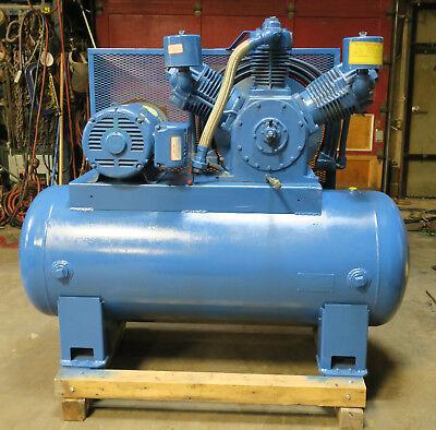 Leroi-dresser Compressor Model 880a 25hp 3ph Baldor Motor M2531t-refurbished