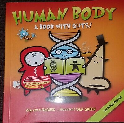 Human Body A Book With Guts. Includes Poster -