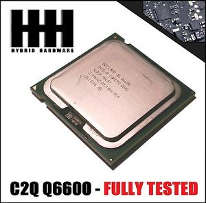 Intel Core 2 Quad CPU Processor Q6600 (2.40GHz, 8M Cache, 1066MHz FSB) LGA775