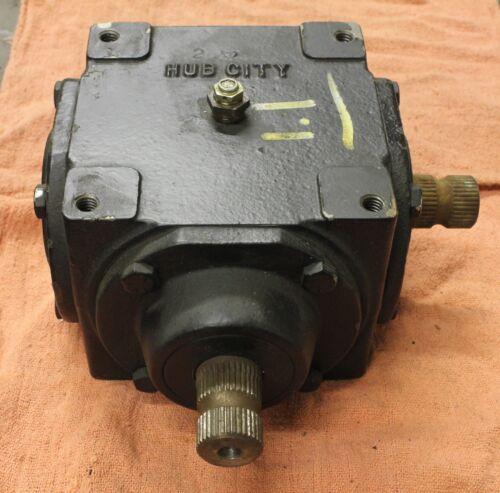 Hub City Model 150, 1:1 gear box