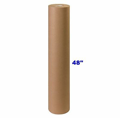 48 X 900 Brown Kraft Paper Roll 40 Lb Shipping Wrapping Packaging Cushioning