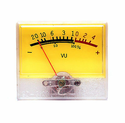 10pc Panel Meter Sd-312c 55x47mm Vu -204db Dcr 630 If 500ua Sd Flashstar