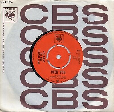 GARY PUCKETT & UNION GAP   OVER YOU/IF THE DAY WOULD COME  UK CBS   (Union Gap Uk)