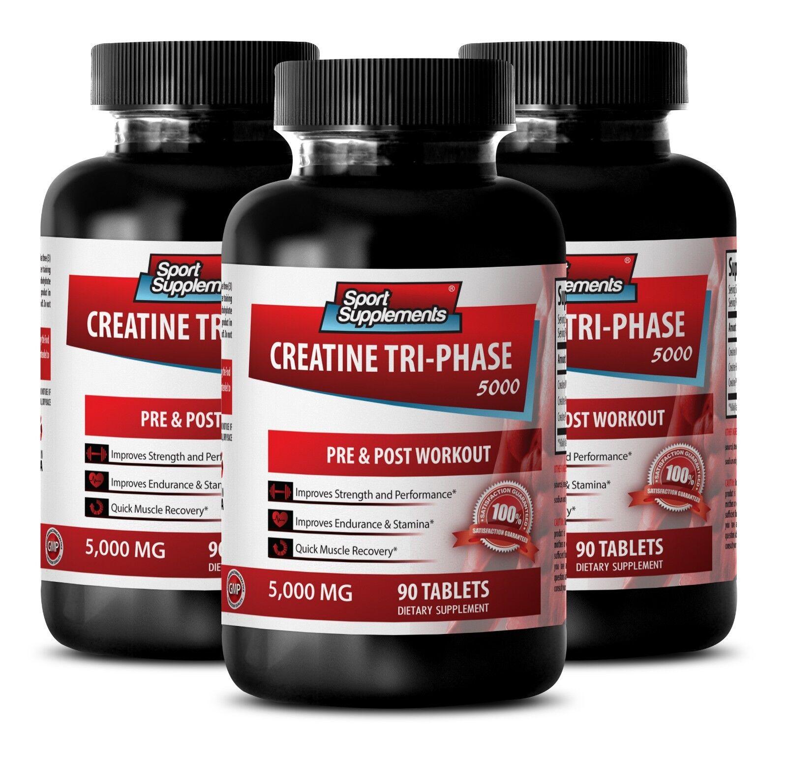Improves Metabolism Tablets - Creatine 3x 5000mg - Creati...