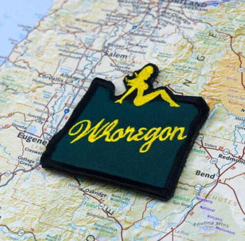 Whoregon Morale Patch Portland Oregon Timbers PTFC RCTID Green Gold Go Ducks