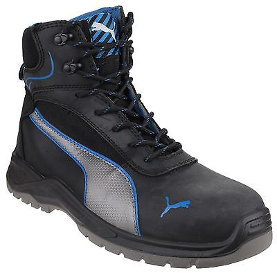 Puma Atomic Mid Water Resistant Safety Mens Industrial Work Boots Shoes UK6.5-12