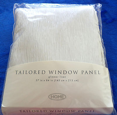 Home Glimmer Linen Tailored Window Panel  57 X 84  2000 Target Brands  Inc New