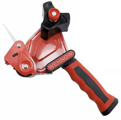 2 Pcs Red 2 Inch Tape Gun Dispenser Packing Packaging Cutter