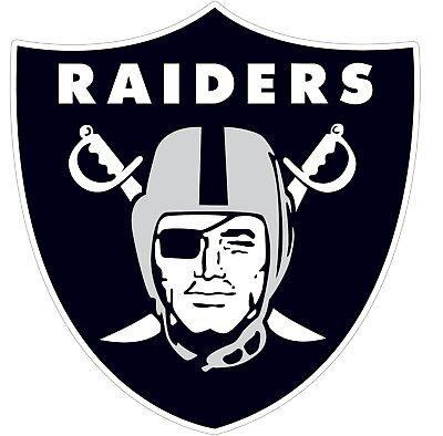 Oakland Raiders NFL Color Vinyl Decal Sticker - New You Choose Size - Nfl Oakland Raiders