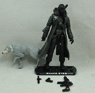 Gi joe  Hasbro  2009 Roc the rise of cobra  Snake Eyes   #M017