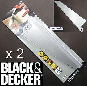 X29961 x 2 Black & Decker Scorpion Saw Blade Wood And Plastic KS880 KS890E/ECN