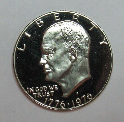 1976 S Type 1 Clad Proof Eisenhower Dollar 1976 Eisenhower Dollar Type