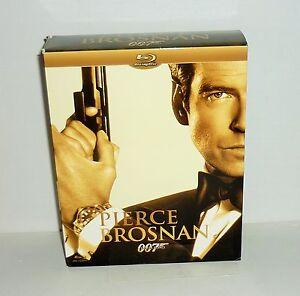 coffret 4 dvd video blu ray pierce brosnan 007 james bond ebay. Black Bedroom Furniture Sets. Home Design Ideas