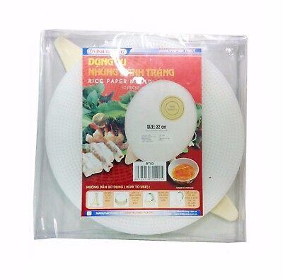 Schablone für Reispapier 22cm Vietnamesische Frühlingsrollen Sommerrollen Reis