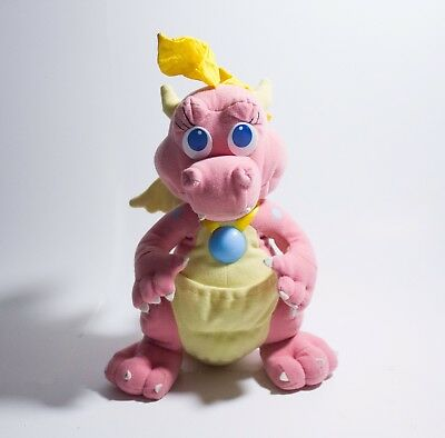 "Dragon Tales Cassie Talking Light Up 11"" Plush Doll Toy 1999 - Playskool PBS"