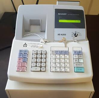 Cash register electronics computer gumtree australia free sharp xe a203 electronic cash register fandeluxe Image collections