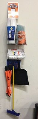 Emergency Hazardous Spill Containment Kit With Wire Rack