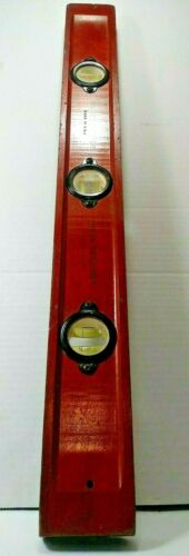 """Vintage Wards Master 2 Foot Level, Genuine Cherry Made in U.S.A. No 84 3875-24"""""""