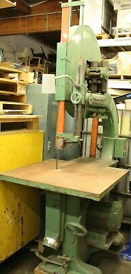 Tannenwitz Gh 36 Band Saw Bandsaw 20underguide Bearings Press On Wheels Wood