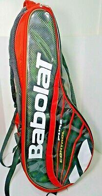 BABOLAT Pure Control Racquet Holder X6 tennis Bag backpack Red Black White