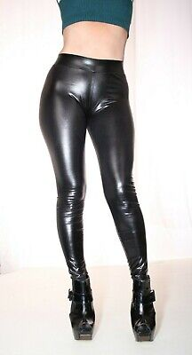 7352e45faed11 PUSSYRIOT Metallic Shiny Contour Cameltoe Leggings