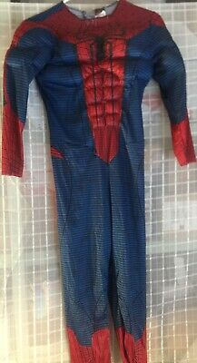 Spiderman Costume With Muscles Sz. 5-7 Years