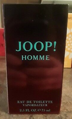 JOOP ~ JOOP HOMME EAU DE TOILETTE SPRAY ~ 2.5 OZ