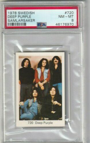 1978 Deep Purple PSA 8  Swedish Samlarsaker # 720 POP 1 Highest Grade