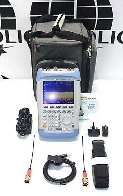 Rohde Schwarz Fsh6 Rs 6.26 Handheld Spectrum Analyzer Fsh 6ghz 6ghz