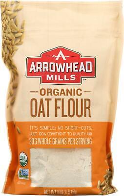 Organic Oat Flour (6 - 16 OZ) ()