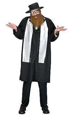 Jewish Rabbi Religious Adult Costume - Jewish Costume