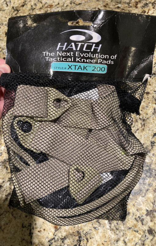 Hatch XTAK 200 Tactical Knee Pads Desert Tan w/ TPU Shell Style New In Package!!