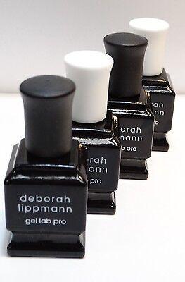 Lot Of 4      Deborah Lippmann Gel Lab Pro     Set Of 4         27 Oz  Each