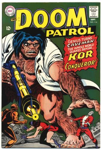 DOOM PATROL #114 VF, DC Comics 1967