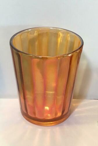 Antique Carnival Glass Tumblers X10