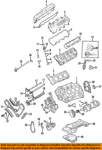 details about mercedes oem 03 05 ml350 engine cylinder head gasket 1120161020 Mercedes Wiring Diagram 3 on diagram only genuine oe factory original item
