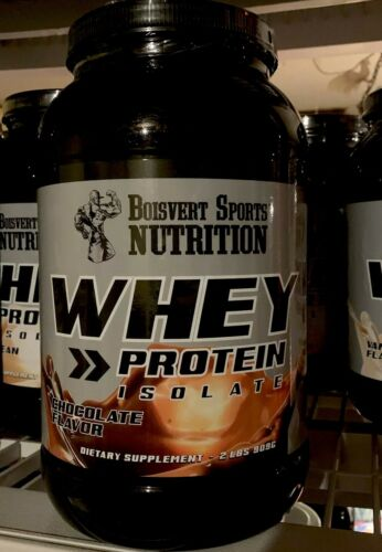 BOISVERT SPORTS NUTRITION WHEY Protein Isolate Powder Chocol