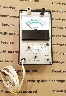 Diebold Decibel Meter Vintage