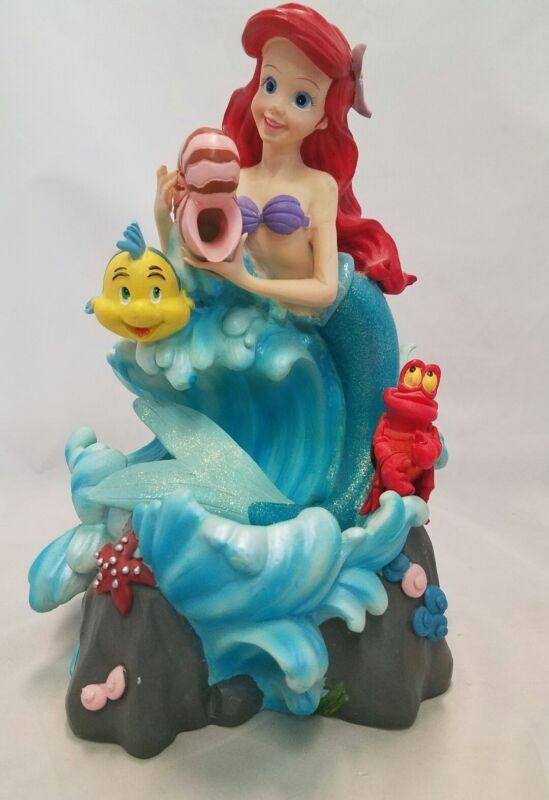 RARE 1988 Little Mermaid ARIEL UNDER THE SEA WATER FOUNTAIN Musical DISNEY