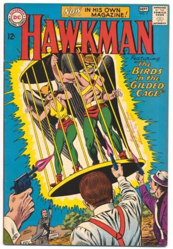 HAWKMAN #3 F, Murphy Anderson art, DC Comics 1964