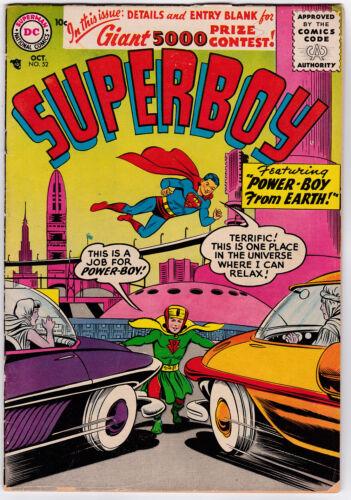 Superboy # 52 (1956) VG/FN