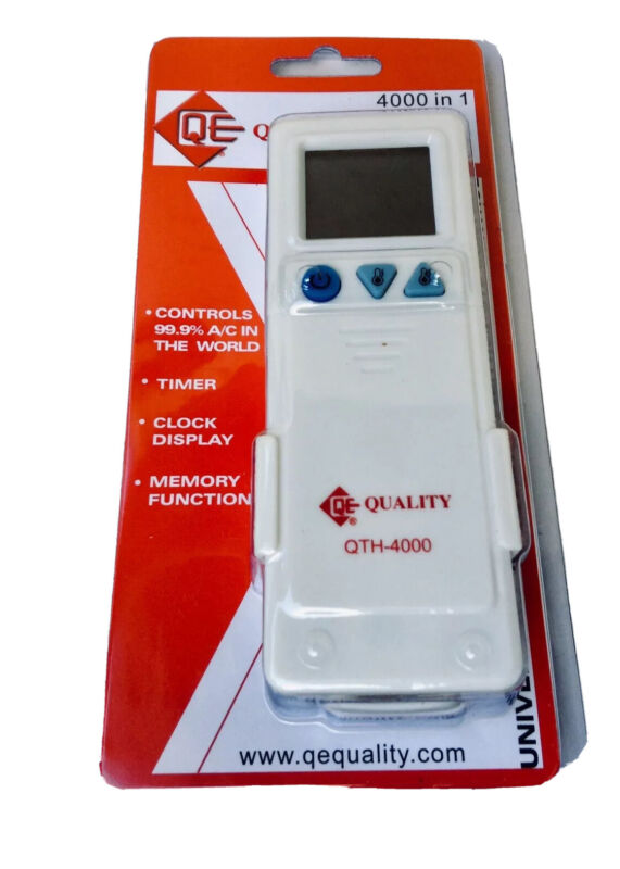 QTH-4000 Mini Split Universal Remote Control,4000 Codes, Controls 99.9% AC