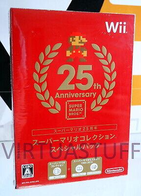 Usado, SUPER MARIO COLLECTION, SPECIAL PACK, 25 TH ANNIVERSARY, Nintendo WII, U, sealed segunda mano  Embacar hacia Spain